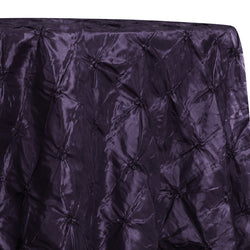 Belly Button (Pinwheel) Table Linen in Raisin
