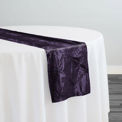 Belly Button (Pinwheel) Table Runner in Raisin