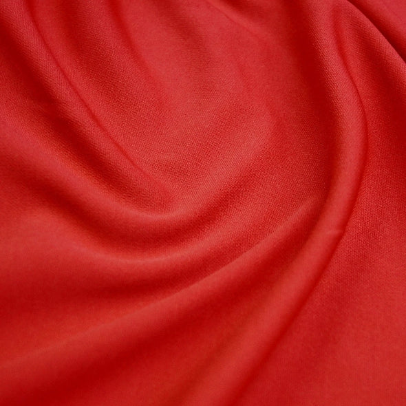 Scuba (Wrinkle-Free) Wholesale Fabric in Red 404