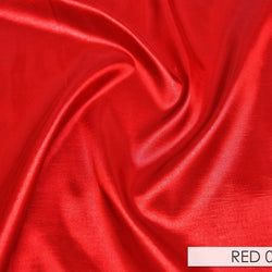 Taffeta (Solid) Table Napkin in Red 024