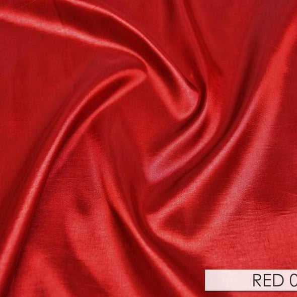 Taffeta (Solid) Table Runner in Red 090