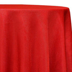 Imitation Burlap (100% Polyester) Table Linen in Red