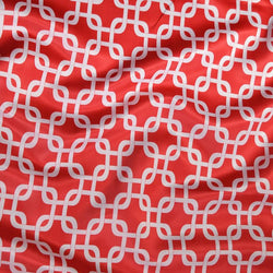 Lynx Print (Lamour) Table Linen in Red