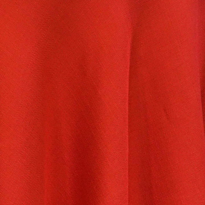 Rustic Linen (100% Poly/Double-Wide) Wholesale Fabric in Red
