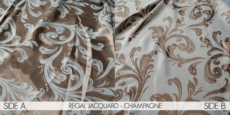 REGAL JACQUARD - CHAMPAGNE