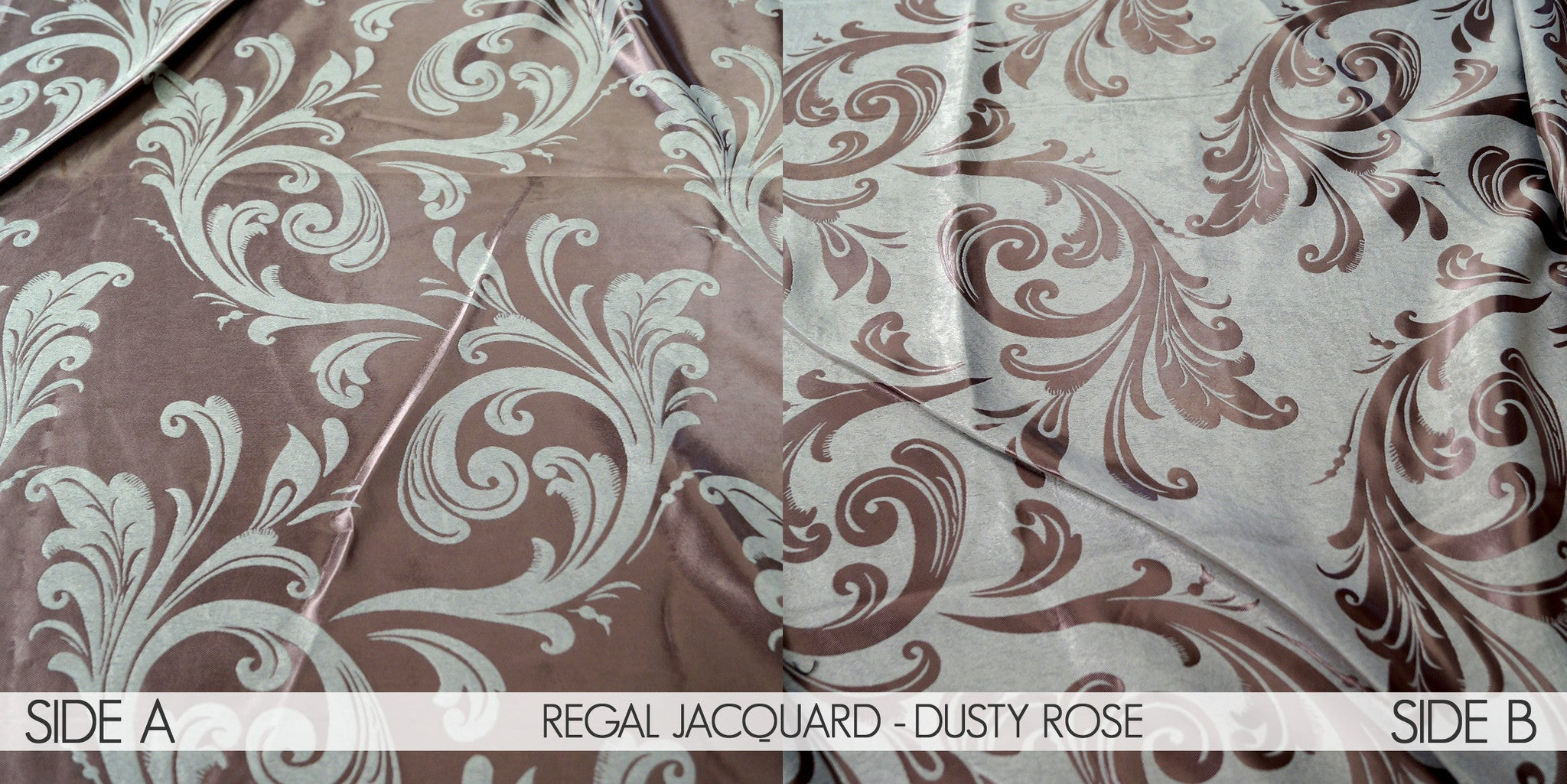REGAL JACQUARD - DUSTY ROSE
