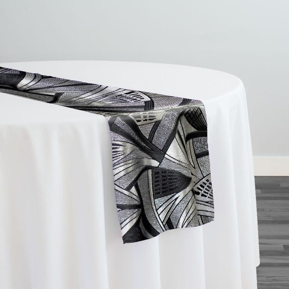 Allure Jacquard Table Runner in Ritz