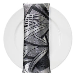 Allure Jacquard Table Napkin in Ritz