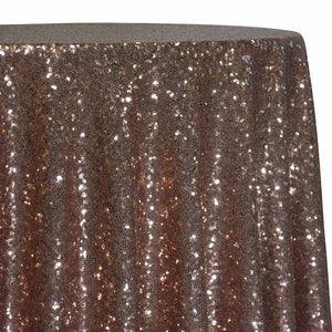 Glitz Sequins Table Linen in Rose Gold