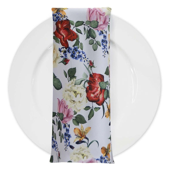 Rose Garden (Poly Print) Table Napkin