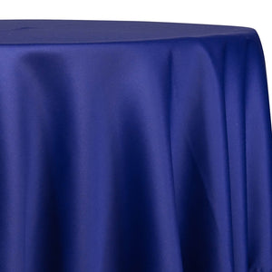 Lamour (Dull) Satin Table Linen in Royal 1147