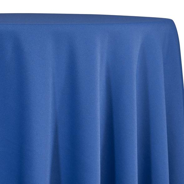 Royal Blue Tablecloth in Polyester for Weddings