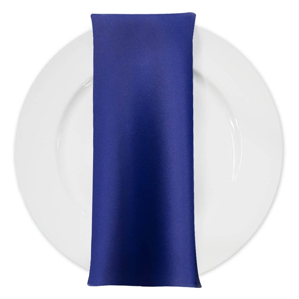 Lamour (Dull) Satin Table Napkin in Royal 1147
