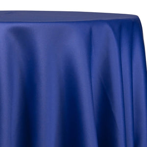 Lamour (Dull) Satin Table Linen in Royal 1149