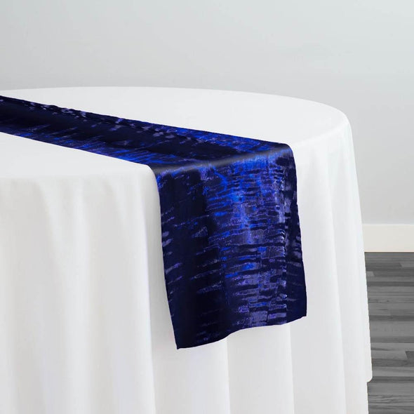 Crush Shimmer (Galaxy) Table Runner in Royal 2