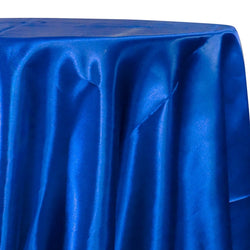 Bridal Satin Table Linen in Royal 340