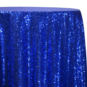 Glitz Sequins Table Linen in Royal
