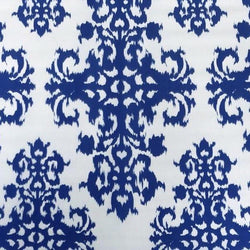 Newport Print (Dupioni) Table Runner in Royal