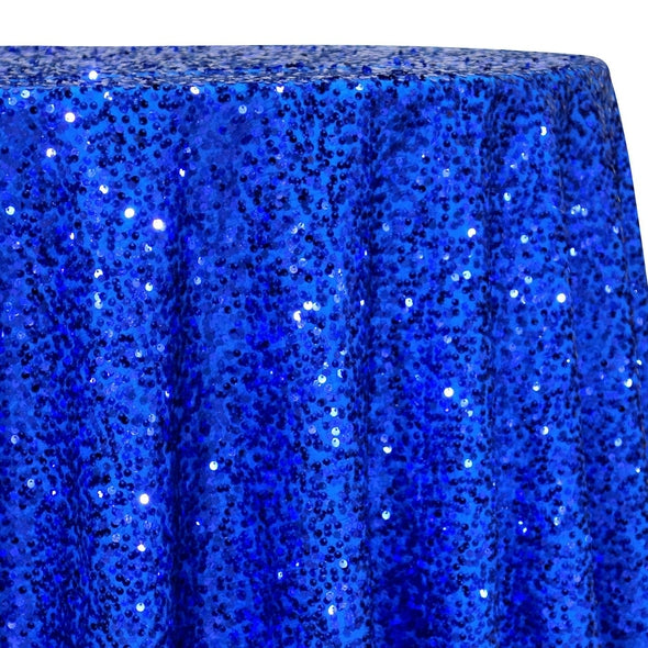 Taffeta Sequins Table Linen in Royal