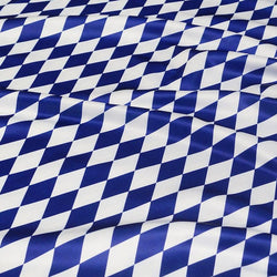 Harlequin (Lamour Print) Table Napkin in Royal