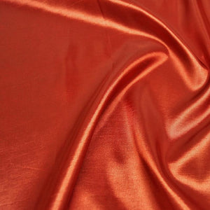 Taffeta (Solid) Table Linen in Rust 033