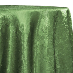 Crush Satin (Bichon) Table Linen in Sage D 377