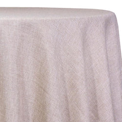 Imitation Burlap (100% Polyester) Table Linen in Sand