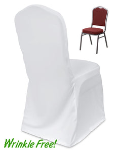 Scuba Crown Back Banquet Chair Cover + Premium Quality
