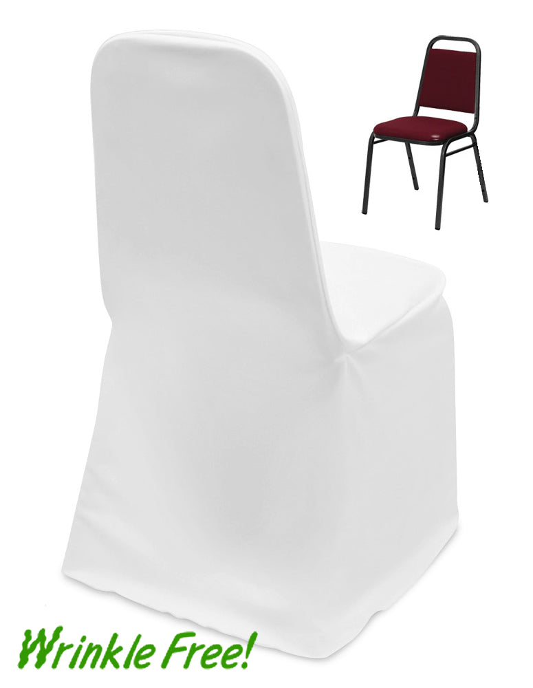 Scuba Stacking Banquet Chair Cover + Premium Quality