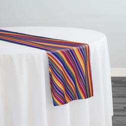 Serape Stripe (Knit-Look) Table Runner