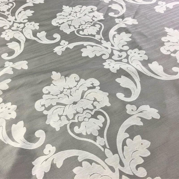 Madison Jacquard (Reversible) Table Runners in Silver