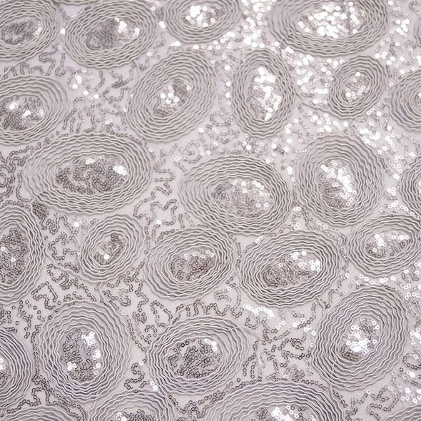 Sienna Design Table Runner in Silver