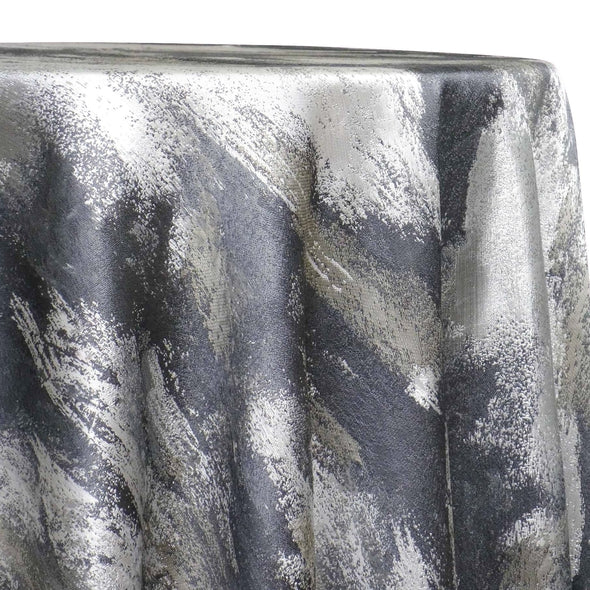 Element (Reversible) Table Linen in Silver