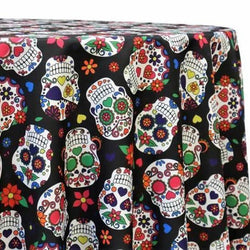 Skull Candy (Poly Print) Table Linen