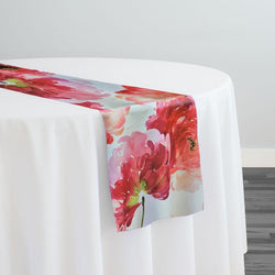Spring Blossom (Poly Print) Table Runner