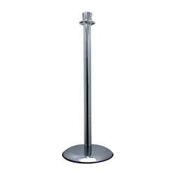 Polished Chrome Lobby Stanchion