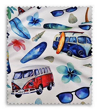 Surf's Up (Poly Print) - Swatch