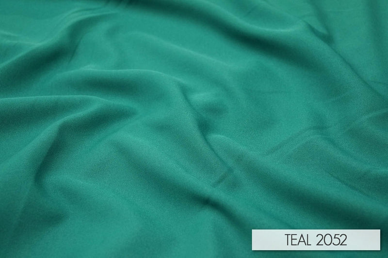"24pcs - Polyester Poplin - 12' Tall + 4"" Pocket - Teal #2052"