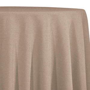 Premium Poly (Poplin) Table Linen in Taupe 1189