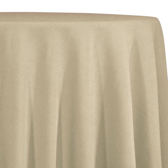 Khaki Tablecloth in Polyester for Weddings