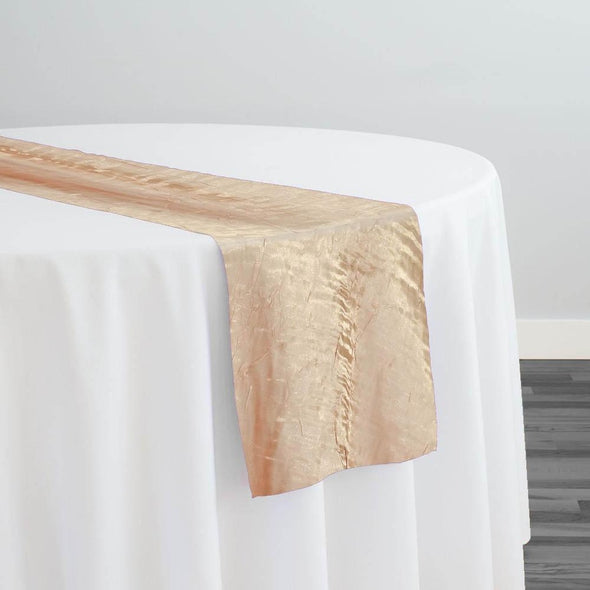 Crush Shimmer (Galaxy) Table Runner in Taupe 27