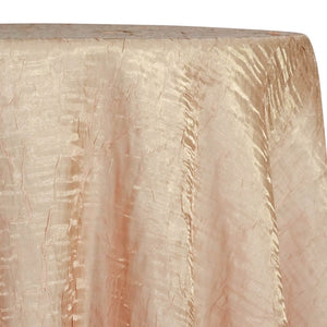 Crush Shimmer (Galaxy) Table Linen in Taupe 27