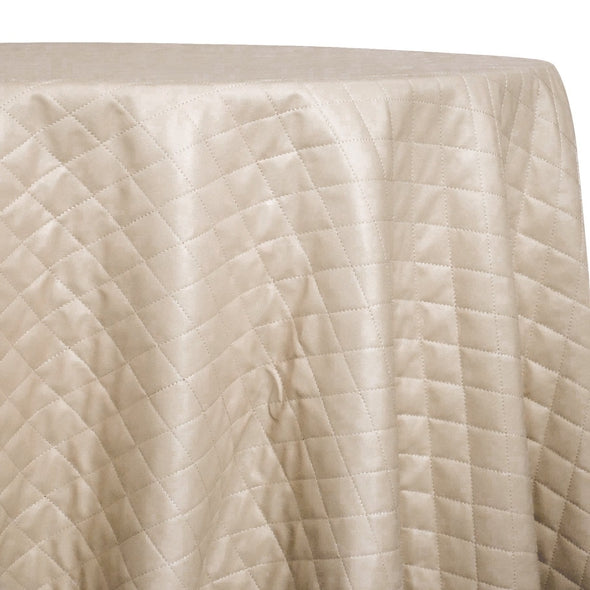 Murano Quilt Table Linen in Taupe