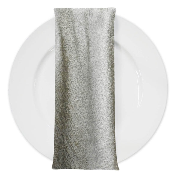 Sterling Jacquard Table Napkin in Taupe