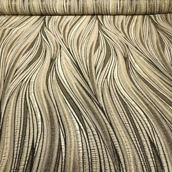 Allure Jacquard Table Linen in Taupe