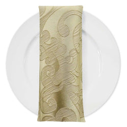 Classic Jacquard Table Napkin in Taupe