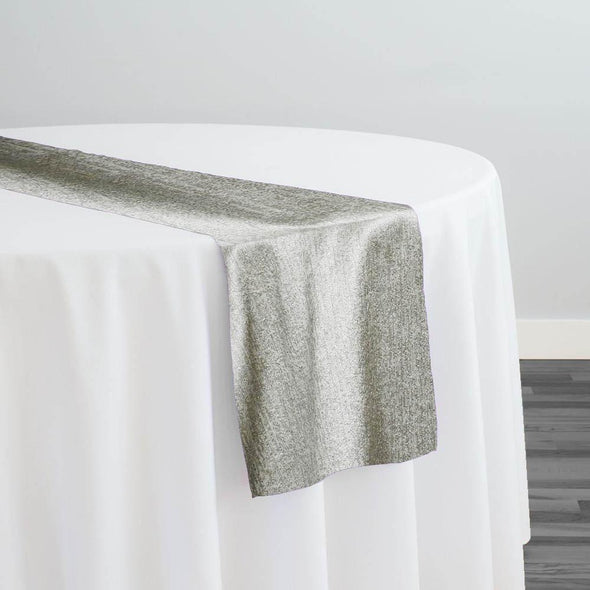 Sterling Jacquard Table Runner in Taupe