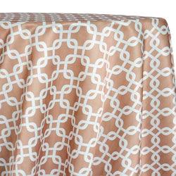 Lynx Print (Lamour) Table Linen in Taupe