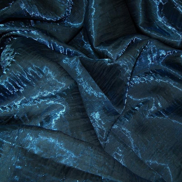 Crush Shimmer (Galaxy) Table Napkin in Teal 10
