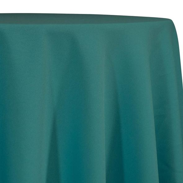 Teal Tablecloth in Polyester for Weddings